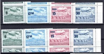 ČSSR II/L 29 - L 32 K krajové kupony ! - kat. cena 1200 + Kč /19.65990