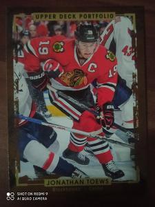 Hokejová karta Jonathan Toews, Chicago Blackhawks