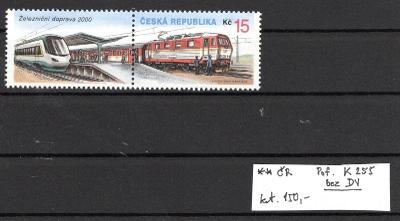 ČR /255 K bez DV - kat.cena 170 Kč /19.65711