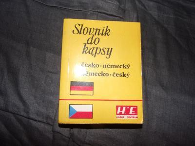 Slovník německo-český a česko-německý od koruny
