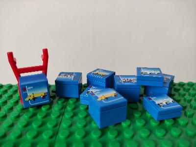 LEGO - dílky lego setů + rudl