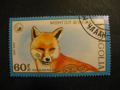 Mongolsko fauna ražené od korunky