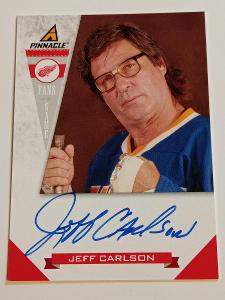 2011-12 Pinnacle Fans of the Game Jeff Carlson #4 Auto