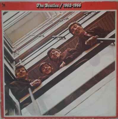 2LP The Beatles, 1962-1966, 1977, červené album