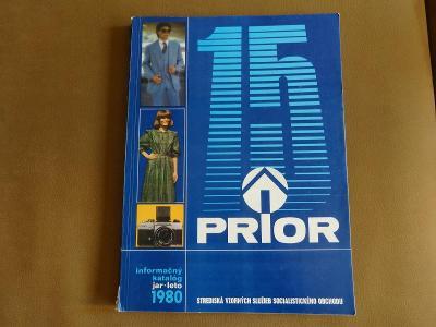 Starý katalog PRIOR 1980 Jaro-léto