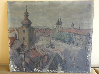 Starý obraz V. Doležal