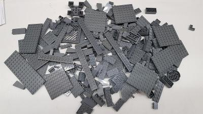 Lego dark bluish gray díly 0,5 kg od Legomania