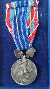 Medaile Za pracovní věrnost ČSR !!!-starši typ RR