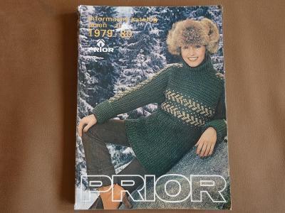 Starý katalog PRIOR 1979-80