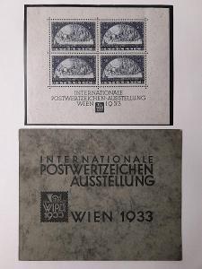 Rakousko WIPA block č. BL1**/* + originální destičky - velmi vzácné !