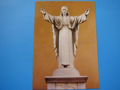 OSTRAVA SVINOV Římskokatolický kostel Krista Krále Socha Sakrál
