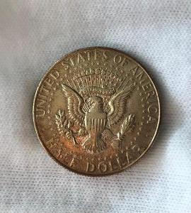 AG USA 1/2 Dollar 1966 Kennedy Half Dollar - Silber (stříbro)