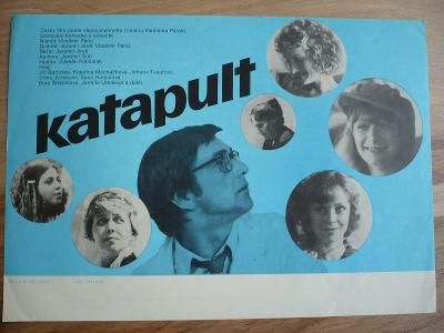 Katapult (filmový plakát, film ČSSR 1983, režie Jaromil
