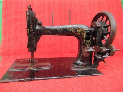Historický šicí stroj - dekorace