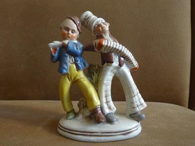 Stará porcelánová figurka Germany - Hudebníci