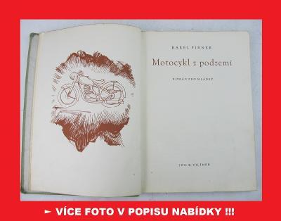 JAWA Pérák FJ Janeček - MOTOCYKL Z PODZEMÍ - vývoj válka 1948