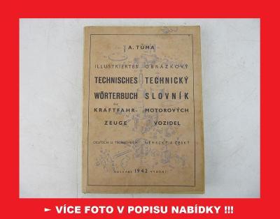 Jawa ČZ Tatra Praga NSU DKW Zetka - TECHNICKÝ SLOVNÍK NJ-ČJ 1942