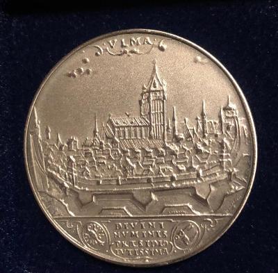 Stříbrná mince 40 mm (AG)