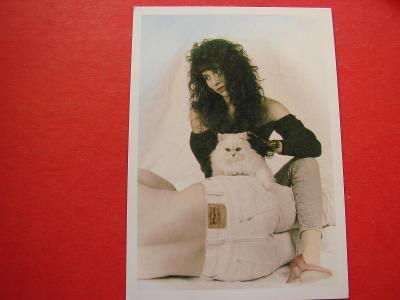 ŽENA Žena Dívky Muž KOČKA Kočička Láska Romantika