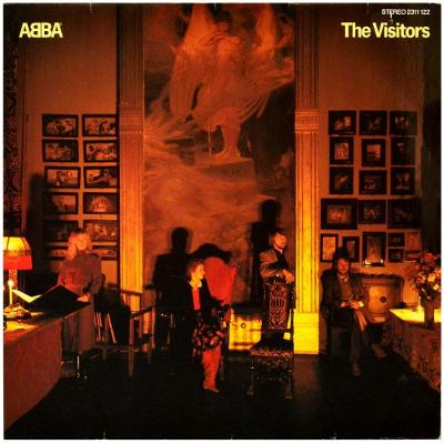 Gramofonová deska ABBA - The visitors