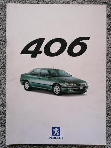 PEUGEOT 406 - 2000 - prospekt