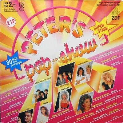 2LP- VA- Peter's Pop-Show´1986 (Modern Talking, Falco, Sandra, Europe)