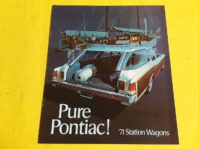 --- Pontiac Station Wagons 1971 ---------------------------------- USA