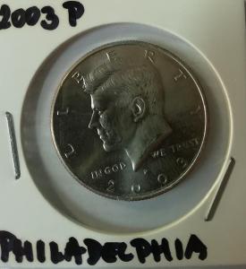 Kennedy Half Dollar 2003 P (Philadelphia)