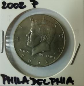 Kennedy Half Dollar 2002 P (Philadelphia)