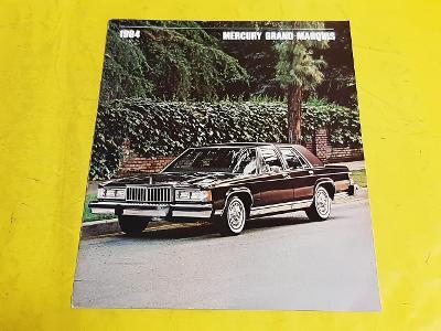--- Mercury Grand Marquis (1984) --------------------------------- USA