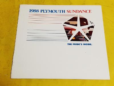 --- Plymouth Sundance (1988) ------------------------------------- USA