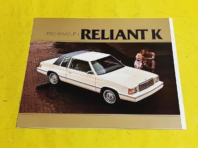 --- Plymouth Reliant K (1982) ------------------------------------ USA