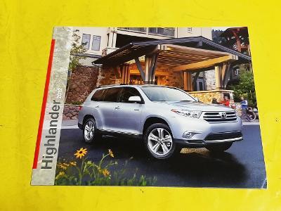 --- Toyota Highlander (2012) ------------------------------------- USA