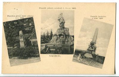 Náchod, pomník prusko - rakouská válka 1866