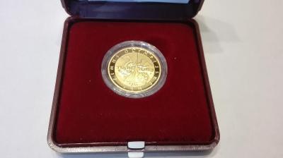 Zlatá pamětní medaile ZOH Turín - PROOF