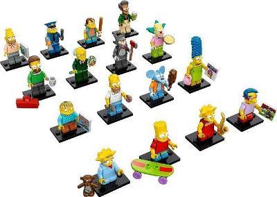 Lego 71005 Minifigurky Simpsons 1