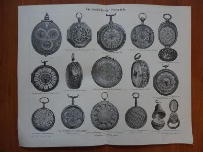 Zur  Geschichte  der Taschenuhr