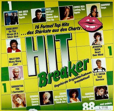 LP- VA- Hitbreaker 1/88 -16 Formel Top (Sabrina, Bad Boys Blue, Sandra