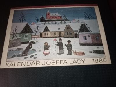 Josef Lada kalendar