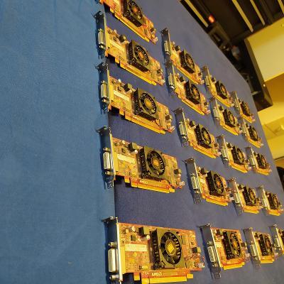 20 kusů AMD ATi Radeon HD 6350 PCI-e 512 MB DDR3