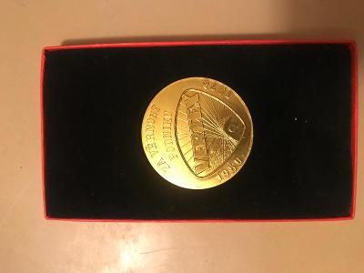 Medaile za věrnou službu podniku Vertex Litomyšl