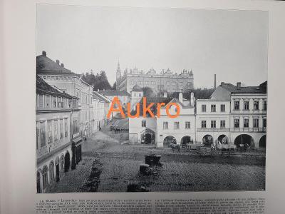 Litomyšl a Krkonoše 1898