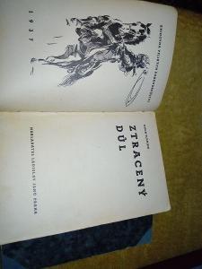 Ztracený důl,Hugh Fleming,1937.