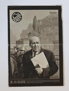 Svět v obrazech Dr. Jan Masaryk, 1948