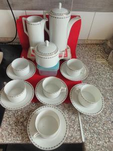 Čajová sada porcelánová