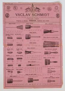 Ceník Schmidt kartáčnické zboží a košťata