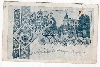 VYŠKOV SJEZD ŽIVNOSTNÍKŮ 1902