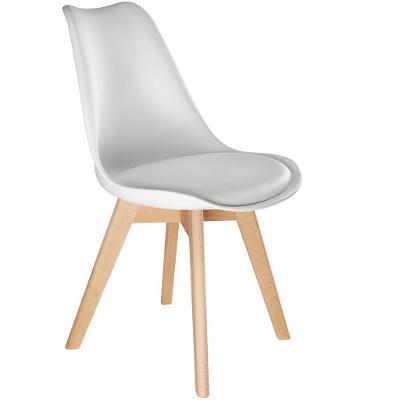 tectake 403810 2 jídelní židle friederike - bílá