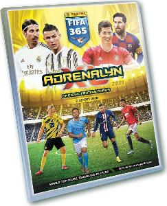 Originál Album na Fotbalové kartičky FIFA 365 - 2021 Adrenalyn XL