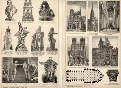 Litografie francouzské umění